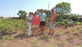 Equipe Quintais realiza visitas técnicas na Região Central do Estado