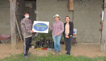 Projeto entrega 30 Quintais em Santa Catarina e Paraná