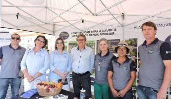 Projeto Quintais participa da Mostra de Ciência e Tecnologia da Embrapa Clima Temperado.
