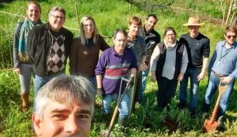 Projeto Quintais Orgânicos de Frutas em Jaguari