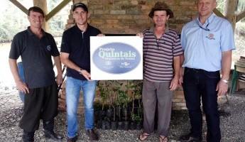 Projeto realiza entrega de Quintais na Região do Alto Vale do Itajaí-SC
