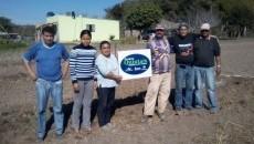 Plantio dos pomares do Projeto Quintais Orgânicos de Frutas