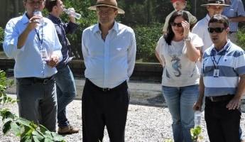 Equipe do Projeto Quintais recebe visita de Chefe da FAO do Brasil.