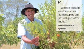 Projeto Quintais foi notícia na Folha da EMBRAPA ed. 186.