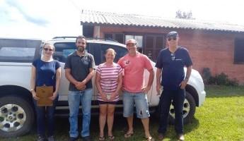 Equipe acompanha beneficiários da Região dos Campos de Cima da Serra