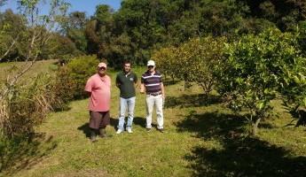 Projeto Quintais faz entrevistas com família contemplada em Morro Redondo