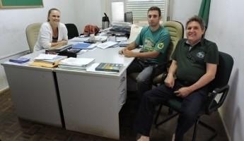 Equipe do Projeto Quintais visita Escola Família Agrícola de Santa Cruz do Sul