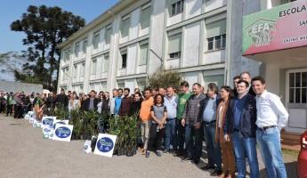Projeto Quintais Orgânicos beneficia 20 novas famílias de Santa Cruz do Sul