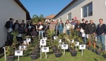 Visita da Universidade Federal da Fronteira Sul - Chapecó-SC