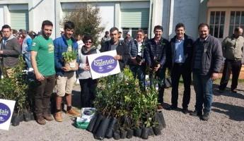 Trinta famílias receberão kits de quintais orgânicos