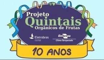 Projeto Quintais completa 10 anos