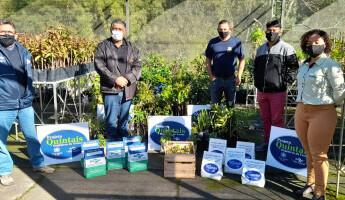 Projeto Quintais entrega 5 Quintais para Aldeia Indígena de Rio das Cobras