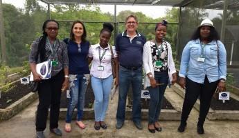Projeto Quintais recebe visita de professoras Moçambicanas