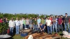 Faculdade Integrado de Campo Mourão-PR recebe mais de 180 mudas através do Projeto Quintais e da Embrapa CPACT