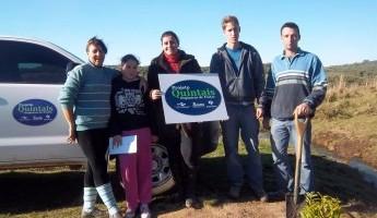 Projeto Quintais Orgânicos é aplicado em Pinheiro Machado