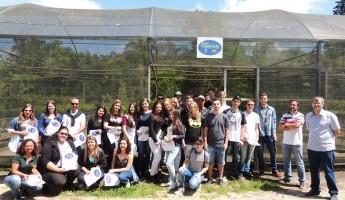 Escola de Canguçu visita o Projeto Quintais