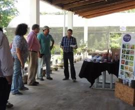 Quintais Orgânicos de Frutas recebe a visita de técnicos do INIA.