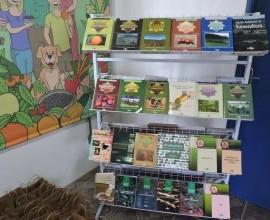 Entrega da primeira Minibiblioteca na Escola Municipal Bruno Chaves em Pelotas-RS