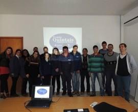 Reunião com os colaboradores do Projeto Quintais 2014