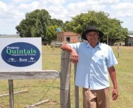 Visita ao Quintal do Quilombola Eduino em Santana do Livramento