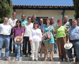 Visita a EEC e ao Projeto Quintais de pesquisadores dos Estados Unidos, México e Espanha