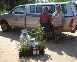 Projeto Quintais presta assistência a assentamentos no município de Arambaré-RS