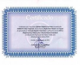 Projeto Quintais recebe Certificado da FAO.
