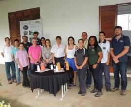 Visita da coordenadora de responsabilidade social da Eletrobras CGTEE Stefánie Galante e ex-coordenadores