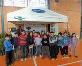 Quintais participa da semana do meio ambiente de Candiota-RS