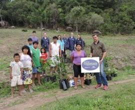 Quintal Orgânico de Frutas entregue a comunidade indígena da Colônia Maciel